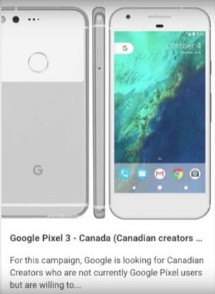 Google Pixel 3 Availability