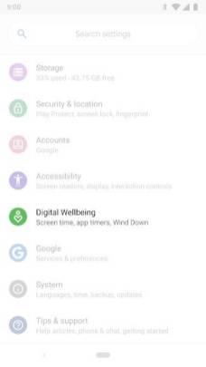 Digital Wellbeing 2