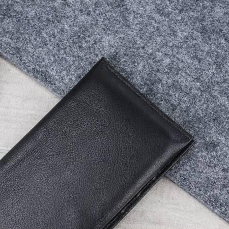 Olixar Primo Genuine Leather Universal Pouch Wallet Case Black 2
