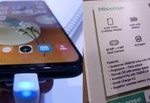 Hisense U30 Photos Market