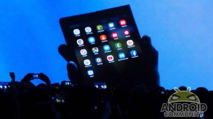 Samsung Galaxy Fold foldable phone