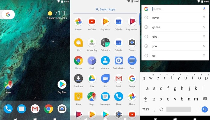 Pixel Launcher Android Q