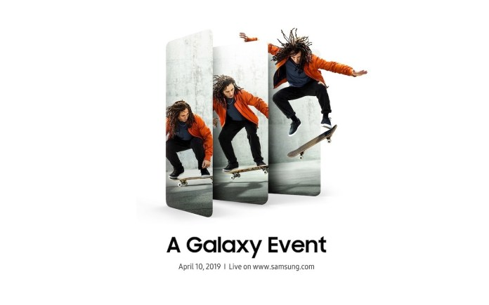 Samsung Galaxy A Event April 2019