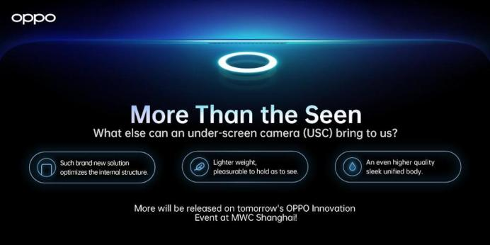 OPPO USC More Than the Seen