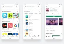 Google Play store visual refresh new design August 2019