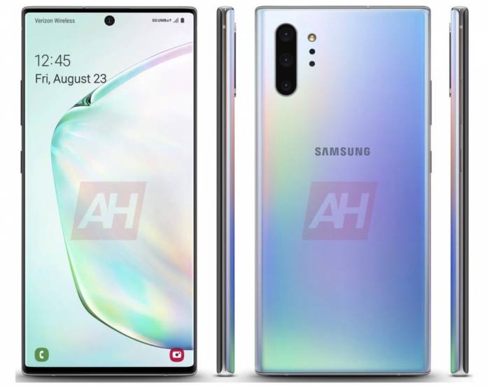 Samsung Galaxy Note 10 Coming In Aura White With 5g Support