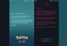 Pokemon GO Xiaomi Account Suspension Notice