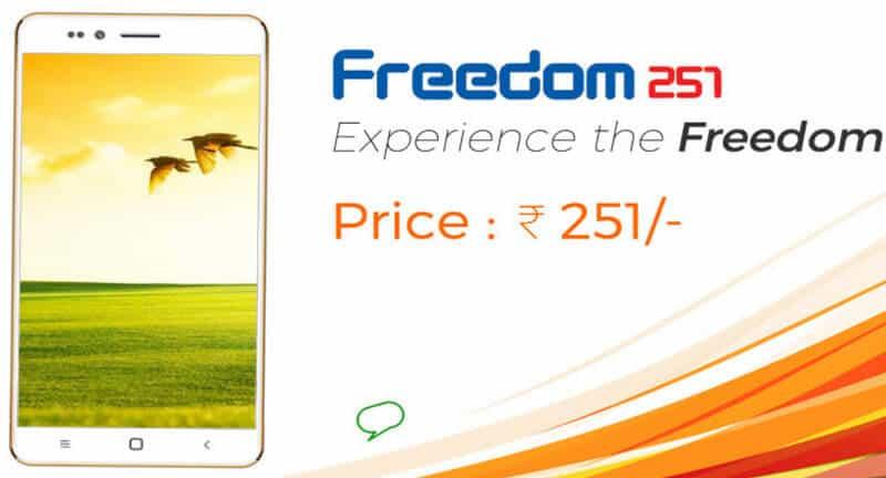 freedom 251 - cheapest smartphone