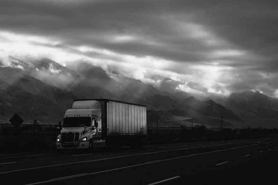 Truck industry job android app