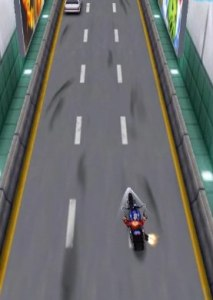 Fast paced racing game