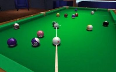 3D pool game real experience