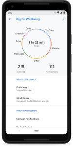 ANDROID 9 PIE DASHBOARD