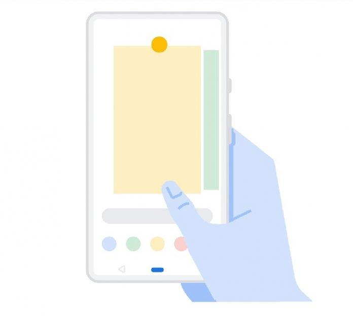 Как включить управление жестами в Android P