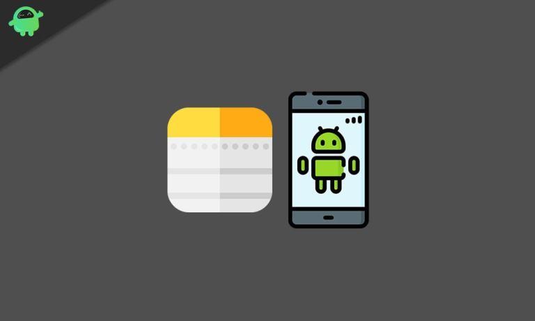 Как просматривать заметки Apple на смартфоне Android