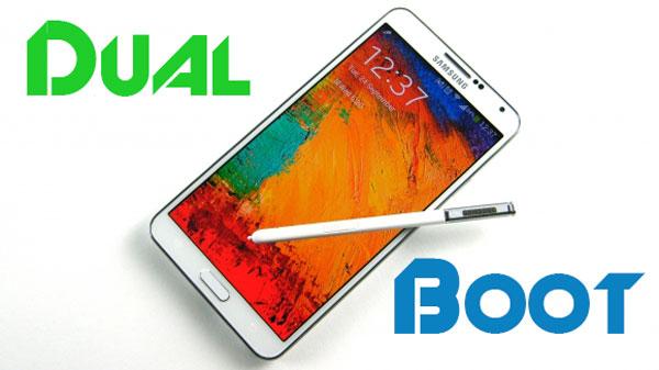 Dual Boot Touchwiz и CyanogenMod на Galaxy Note 3 (пользовательские ПЗУ)