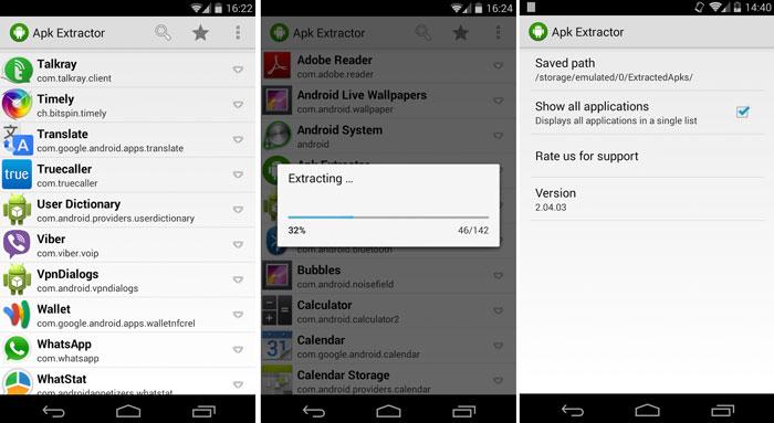 Как извлечь APK из установленных приложений на Android