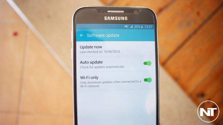 Прошивка Android 5.1.1 на T-Mobile Galaxy S6 (SM-G920T)