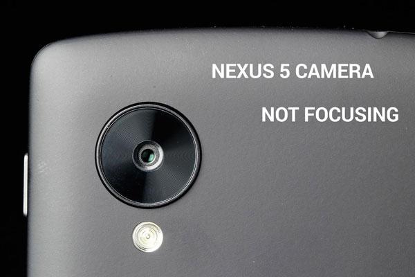 Как исправить проблему с фокусировкой камеры Nexus 5 (Android 4.4.4)