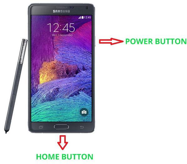 Как сделать снимок экрана на Samsung Galaxy Note 4