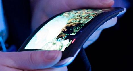 pantalla flexibles de LG
