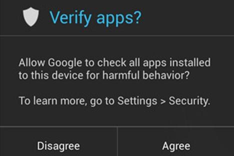 seguridad al instalar aplicaciones Android