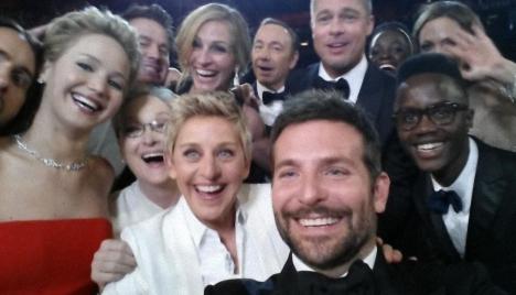 Ellen DeGeneres en la gala de Oscar
