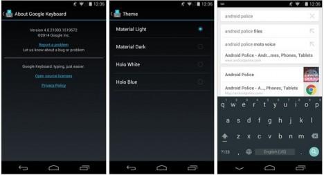 01 teclado de Android 5.0