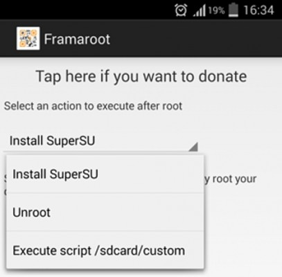 Rootear Android con Framaroot