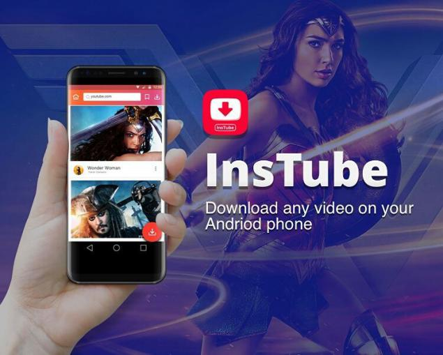 descargar videos en Android con InsTube