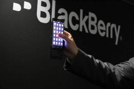 BlackBerry mostrado misteriosamente en la MWC 2015