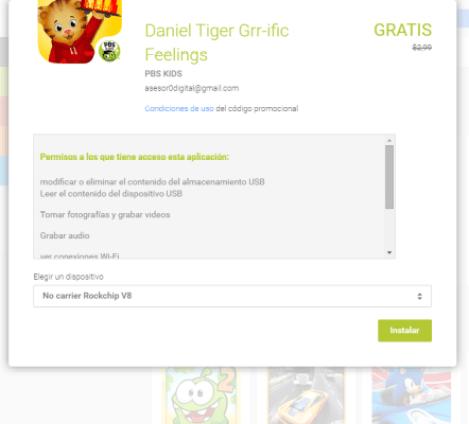 Daniel Tiger: Versión Gratuita del Juego Android
