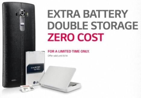 Promoción para el LG G4 el 30 de junio