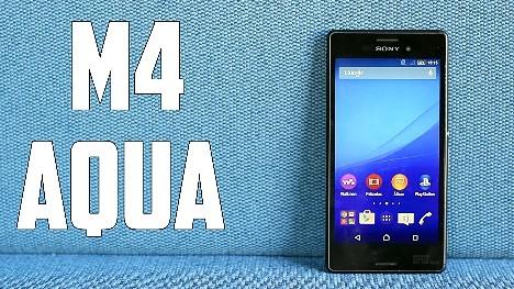 Xperia M4 Aqua Android de Sony en Canadá