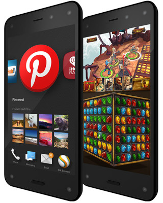 contenido limitado en Amazon Fire Phone