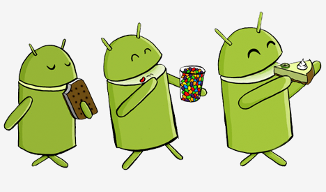 Estadisticas Lollipop Android