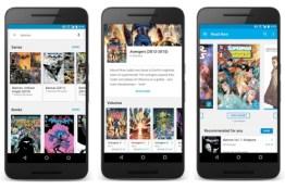 Comics Google Play Books para Android