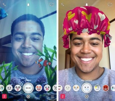Filtros de SnapChat en Play Store