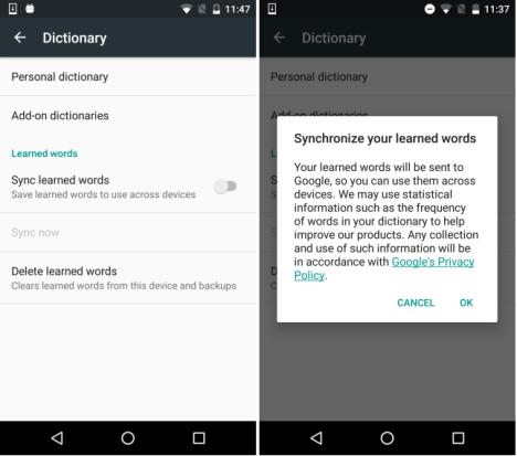 Teclados en Android
