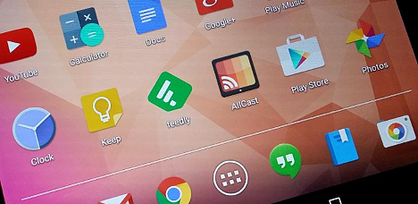 Aplicaciones Android por defecto