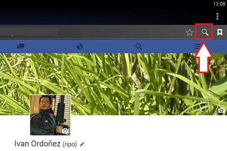 reportar una cuenta falsa de Facebook en Android