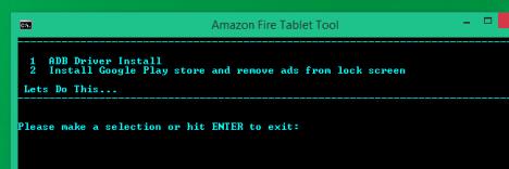 Play Store en Amazon Fire Tablet