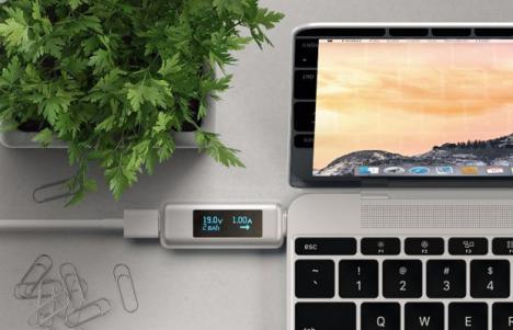 medidor de cable USB tipo C