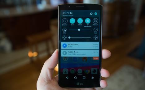 LG G4 con Android 7.0