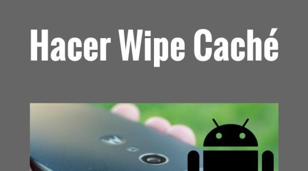 Wipe Cache