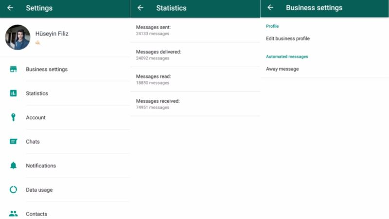 whatsapp business Android versus Messenger