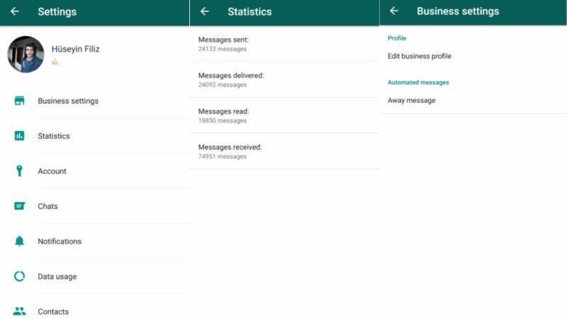 whatsapp business Android versus Messenger