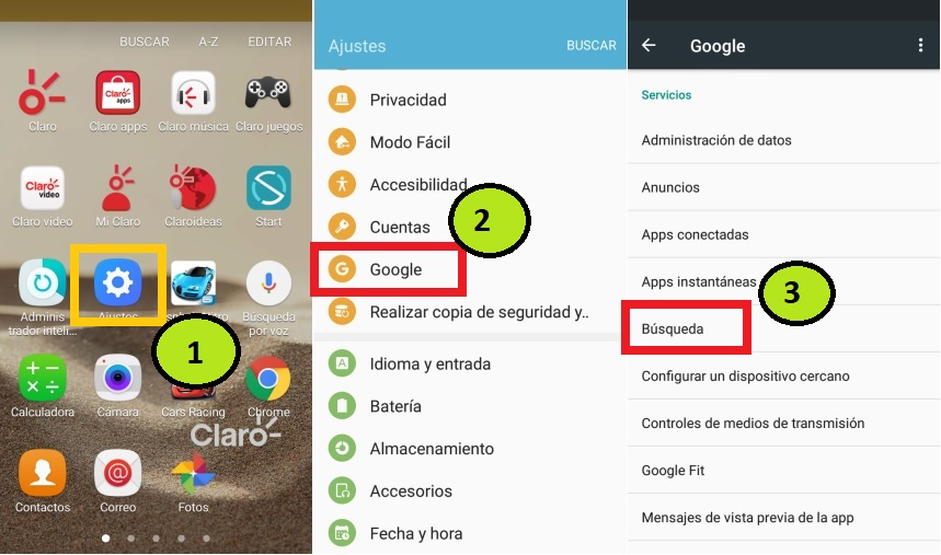 Activar Google Tap Now en Android 6.0