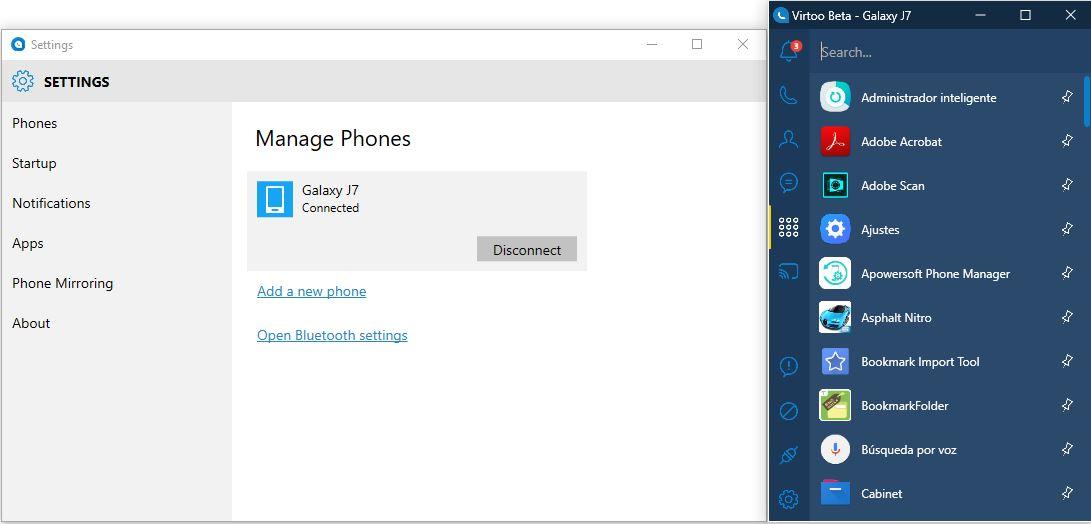 Controlar Android desde el PC