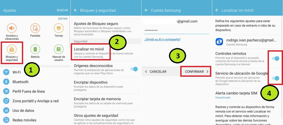 FRP Lock Android eliminar cuenta de Google