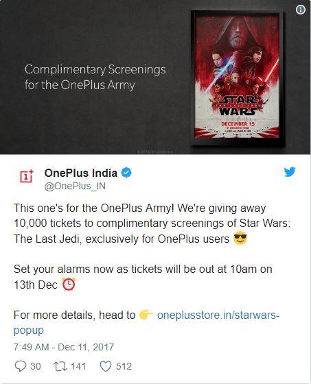 OnePlus Star Wars concurso